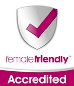 female friendly logo 150w