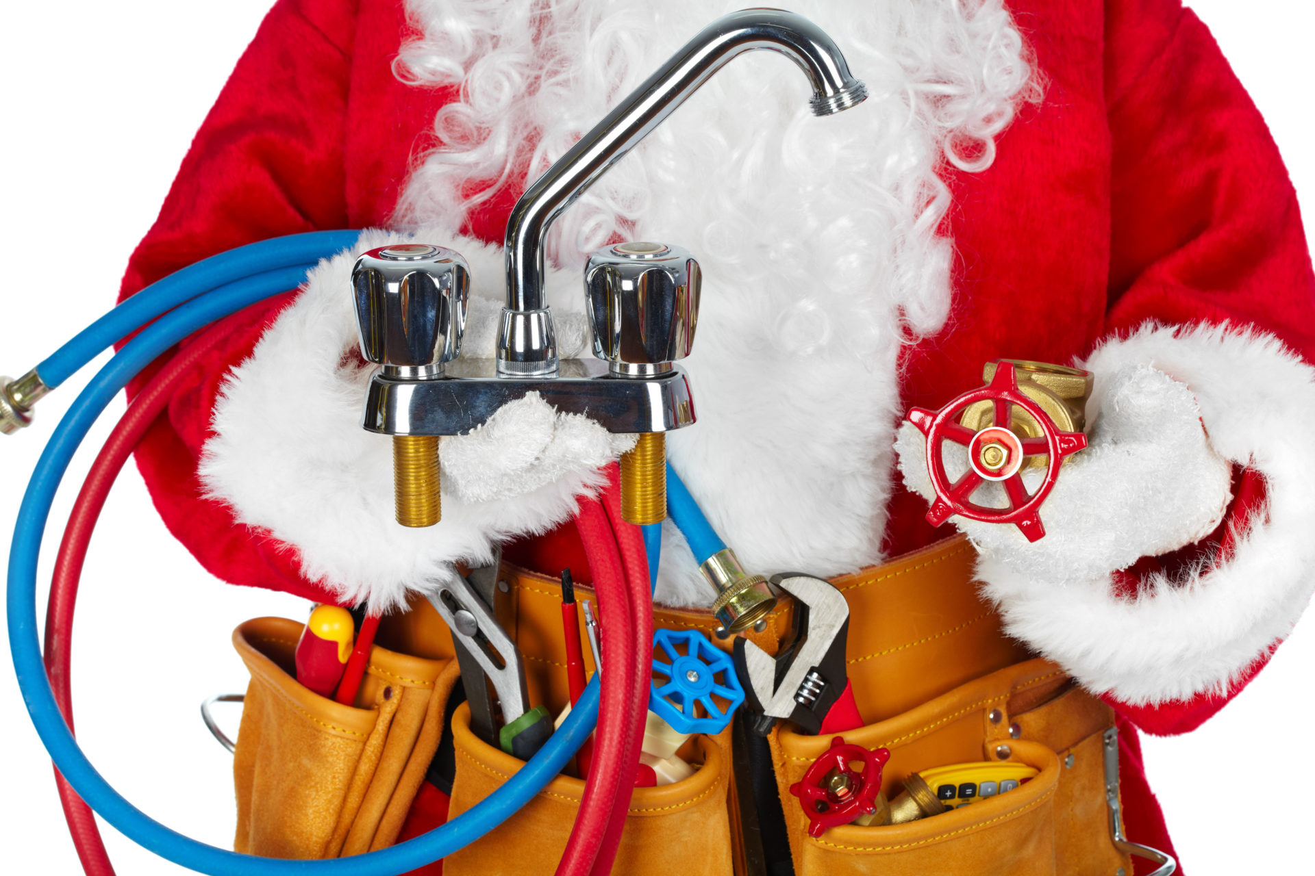 Avoid inviting the plumber over for Christmas!